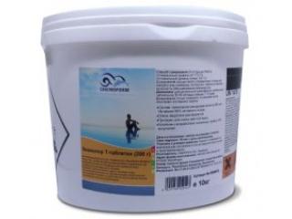 Медленный хлор в таблеткахКемохлор Т (200 г), 10 кг