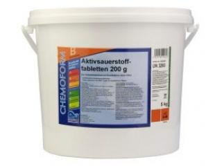 Активный кислород в таблетках по 200 г. 50 кг. (Аквабланк О2)