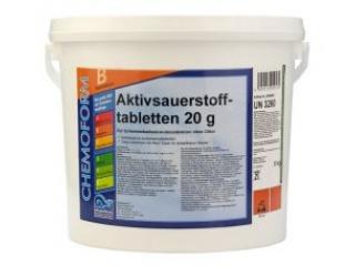 Активный кислород в таблетках по 20г. 5кг. (Аквабланк О2)