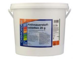Активный кислород в таблетках по 20г. 10кг. (Аквабланк О2) 10 кг