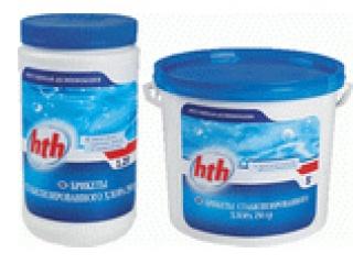 Медленный стабилизированный хлор в таблетках по 200 гр, 1,2 кг (арт.C800501H9)