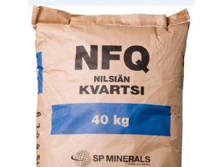 Кварцевый песок от SP Minerals Oy Ab, (Финляндия).