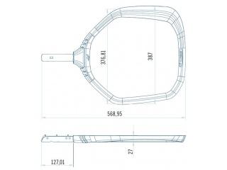 Сетка для очистки поверхности бассейна ASTRAL Shark (арт.36613)